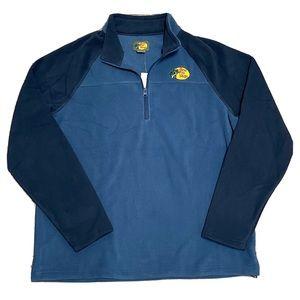 NWT Bass Pro Shops 1/3 Zip Fleece Mens Pullover